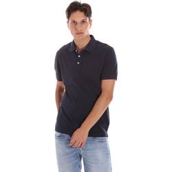 Abbigliamento Uomo Polo maniche corte Ciesse Piumini 215CPMT21454 C0530X Blu