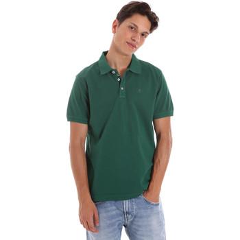 Abbigliamento Uomo Polo maniche corte Ciesse Piumini 215CPMT21454 C0530X Verde