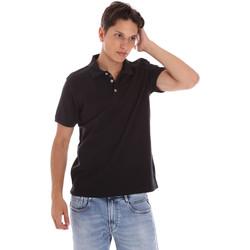 Abbigliamento Uomo Polo maniche corte Ciesse Piumini 215CPMT21454 C0530X Nero