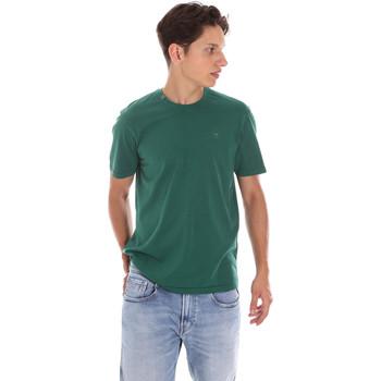 Abbigliamento Uomo Polo maniche corte Ciesse Piumini 215CPMT01455 C2410X Verde
