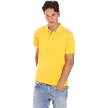 Abbigliamento Uomo Polo maniche corte Ciesse Piumini 215CPMT21454 C0530X Giallo