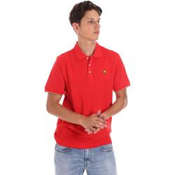 Abbigliamento Uomo Polo maniche corte Ciesse Piumini 215CPMT21424 C0530X Rosso
