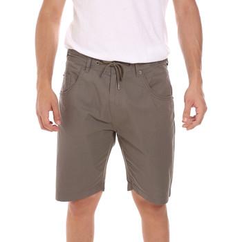 Abbigliamento Uomo Shorts / Bermuda Key Up 2P025 0001 Verde