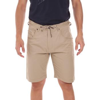 Abbigliamento Uomo Shorts / Bermuda Key Up 2P025 0001 Beige
