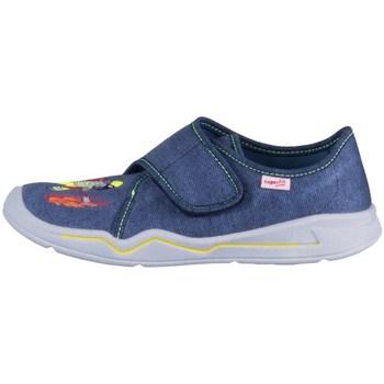 Scarpe Unisex bambino Sneakers basse Superfit Benny Blu marino