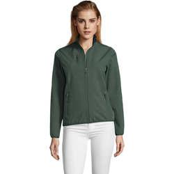Abbigliamento Donna giacca a vento Sols CHAQUETA SOFTSHELL DE MUJER CON CREMALLERA Verde