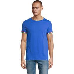 Abbigliamento Uomo T-shirt maniche corte Sols CAMISETA MANGA CORTA RAINBOW Azul