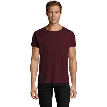 Abbigliamento Uomo T-shirt maniche corte Sols REGENT FIT CAMISETA MANGA CORTA Burdeo