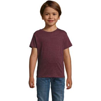 Abbigliamento Unisex bambino T-shirt maniche corte Sols REGENT FIT CAMISETA MANGA CORTA Azul