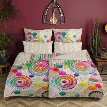 Casa Completo letto Hip Copripiumino 200 x 200 cm Multicolore