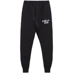Abbigliamento Uomo Pantaloni da tuta GaËlle Paris Pantalone In Felpa Con Ricamo Nero Nero