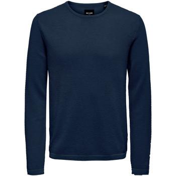 Abbigliamento Uomo Maglioni Only & Sons  22016980 Blu