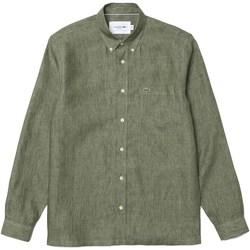 Abbigliamento Uomo Camicie maniche lunghe Lacoste ch4990_ nd