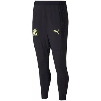 Abbigliamento Uomo Pantaloni da tuta Puma OM yellow Nero