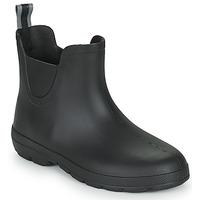 Scarpe Donna Stivali da pioggia Isotoner 93701 Nero