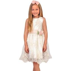 Abbigliamento Bambina Abiti corti Abel & Lula By Mayoral ATRMPN-28876 Beige