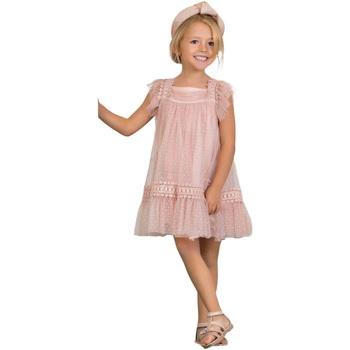 Abbigliamento Bambina Abiti corti Abel & Lula By Mayoral ATRMPN-28881 Rosa