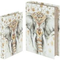 Casa Cestini, scatole e cestini Signes Grimalt Scatole Elephant Prenota 2U Nel Mese Di Settembre Multicolor
