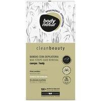 Bellezza Donna Accessori per il corpo Body Natur Clean Beauty Bandas Cera Cuerpo Pieles Sensibles 16 U