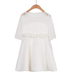 Abbigliamento Bambina Abiti corti Abel & Lula By Mayoral ATRMPN-28885 Bianco