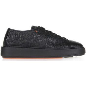 Scarpe Donna Sneakers basse Santoni Sneaker In Pelle Nero