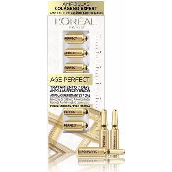 Bellezza Donna Trattamento mirato L'oréal Age Perfect Tratamiento 7 Días Ampollas Efecto Tensor X