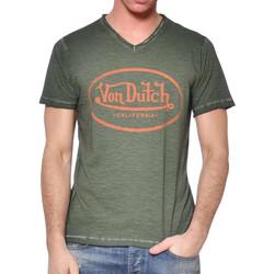 Abbigliamento Uomo T-shirt maniche corte Von Dutch VD/TVC/RON Verde