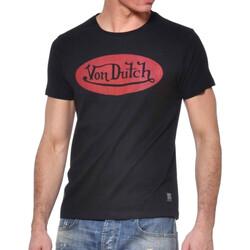 Abbigliamento Uomo T-shirt maniche corte Von Dutch VD/TSC/FRONT Nero