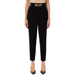 Abbigliamento Donna Chino Elisabetta Franchi PA39116E2 nero