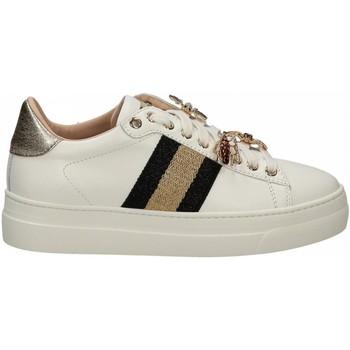 Scarpe Uomo Sneakers basse Stokton 813 VITELLO bianco-nero-platino
