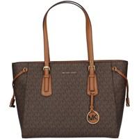Borse Donna Tote bag / Borsa shopping MICHAEL Michael Kors 30F8GV6T2B MARRONE