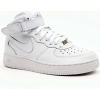 Scarpe Uomo Sneakers alte Nike AIR FORCE 1 MID (GS) Multicolore