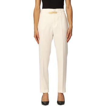 Abbigliamento Donna Pantaloni Liujo WF1368T7896 bianco