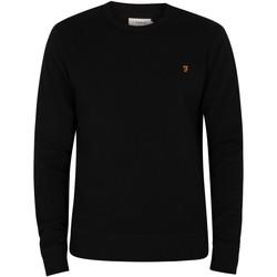 Abbigliamento Uomo Maglioni Farah Vintage Tim Sweatshirt nero