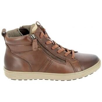 Scarpe Donna Sneakers alte Jana Boots 25202 Cognac Marrone