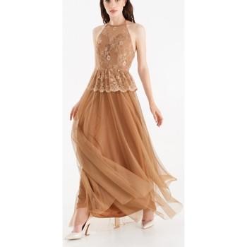 Abbigliamento Donna Abiti lunghi Rinascimento CFC0104894003 Bronzo