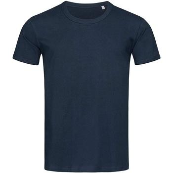 Abbigliamento Uomo T-shirt maniche corte Stedman Stars Stars Blu scuro