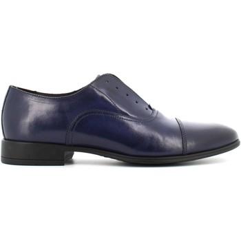 Scarpe Uomo Trekking Antica Cuoieria scarpe uomo classiche 19765-P-S67 SIRIANA BLU Pelle