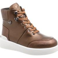 Scarpe Donna Sneakers alte Braccialini U4CALF /BROWN BROWN