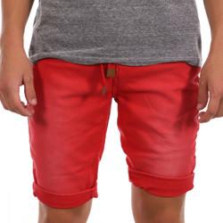 Abbigliamento Uomo Shorts / Bermuda Paname Brothers PB-MALDIVES 3 Rosso