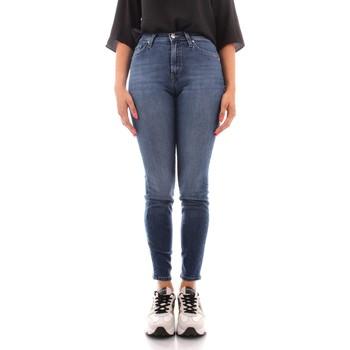 Abbigliamento Donna Jeans slim Roy Rogers A21RND206D3171819 BLU JEANS