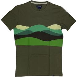 Abbigliamento Uomo T-shirt maniche corte Woolrich ATRMPN-29081 Verde