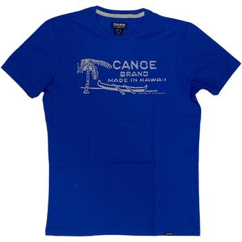 Abbigliamento Uomo T-shirt maniche corte Woolrich ATRMPN-29082 Blu