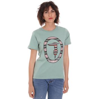Abbigliamento Donna T-shirt maniche corte Trussardi 56T00371-1T005228 Verde