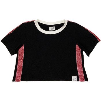 Abbigliamento Unisex bambino T-shirt maniche corte Naturino 6000719 01 Nero