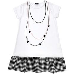 Abbigliamento Bambina Abiti corti Naturino 6000724 01 Bianco