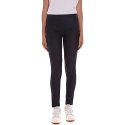 Abbigliamento Donna Leggings Key Up 5D148 0001 Nero