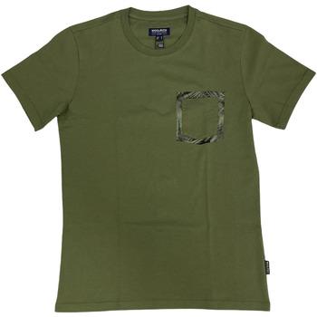 Abbigliamento Uomo T-shirt maniche corte Woolrich ATRMPN-29092 Verde