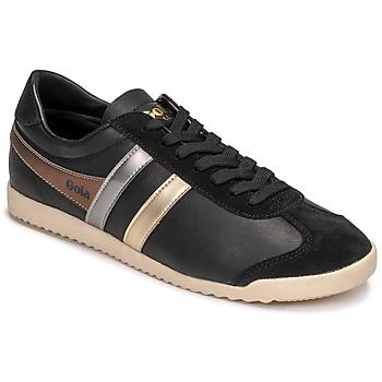 Scarpe Donna Sneakers basse Gola BULLET TRIDENT Nero / Oro