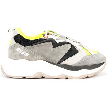 Scarpe Uomo Sneakers basse Msgm  Grigio